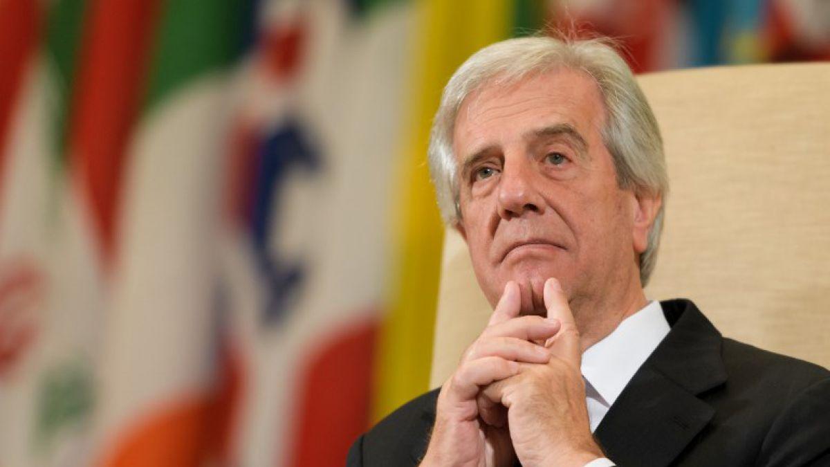 Uruguay: Tabaré Vásquez rechaza intervención de EEUU en Venezuela