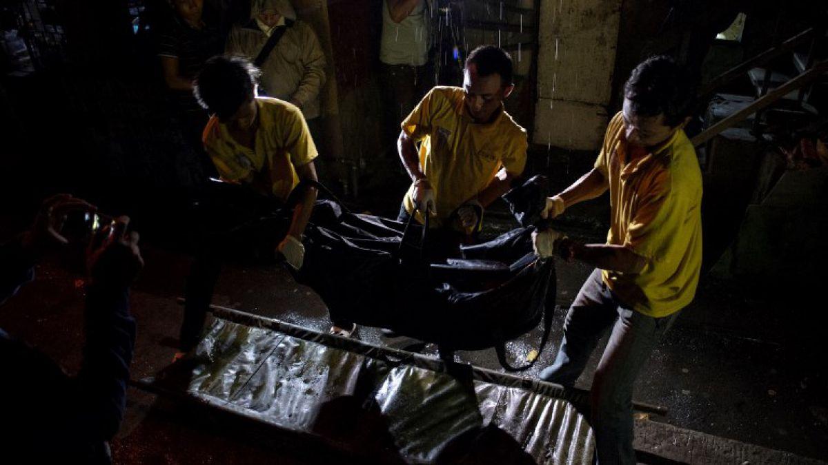 Policía de Filipinas asesina a 32 presuntos narcotraficantes