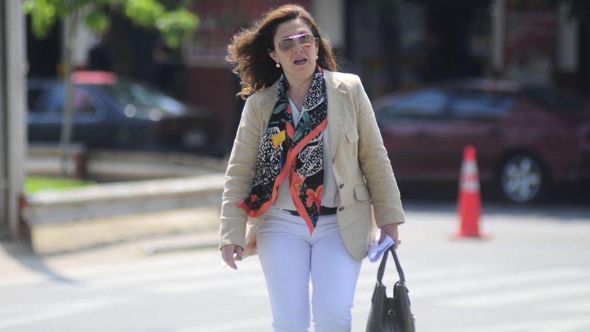Marcela Labraña guarda silencio ante los fiscales del caso Sename