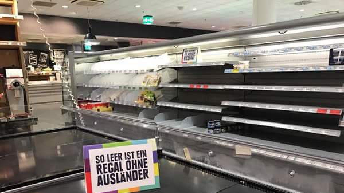 Supermercado alemán vació sus estantes: esta fue la razón
