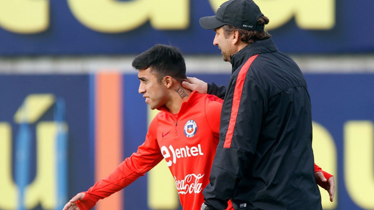 Confirman lesión de Edson Puch que lo marginaría de la Roja