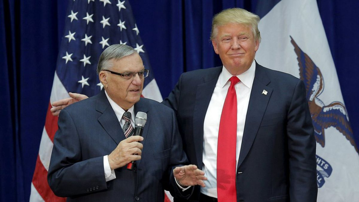 Trump perdona al sheriff antiinmigrante Joe Arpaio