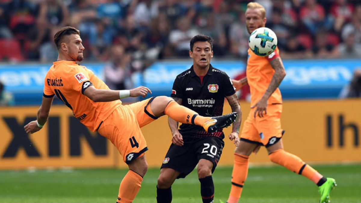 Charles Aránguiz fue titular en empate del Bayer Leverkusen