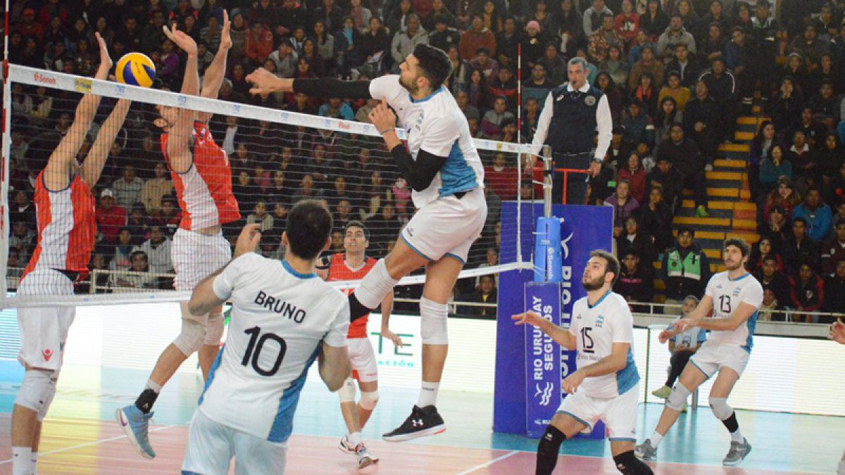 Voleibol chile vs argentina 9