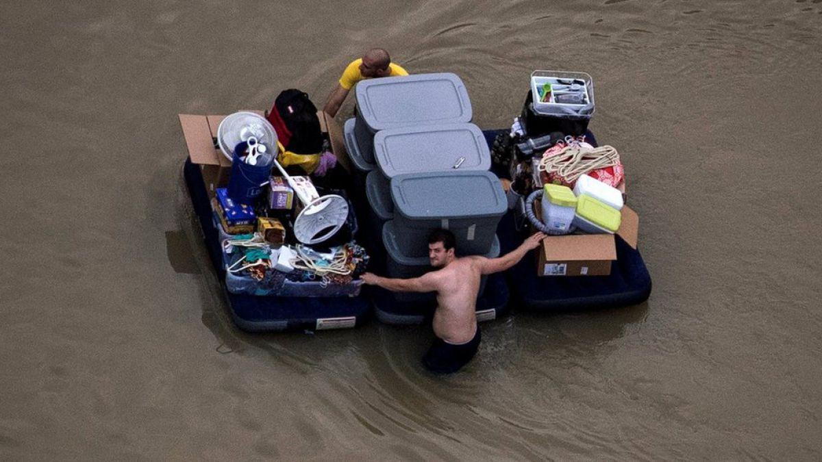 Veinte muertos por la tormenta tropical Harvey en Luisiana