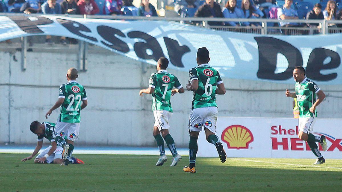 Wanderers celebró su segundo triunfo en la Copa Chile