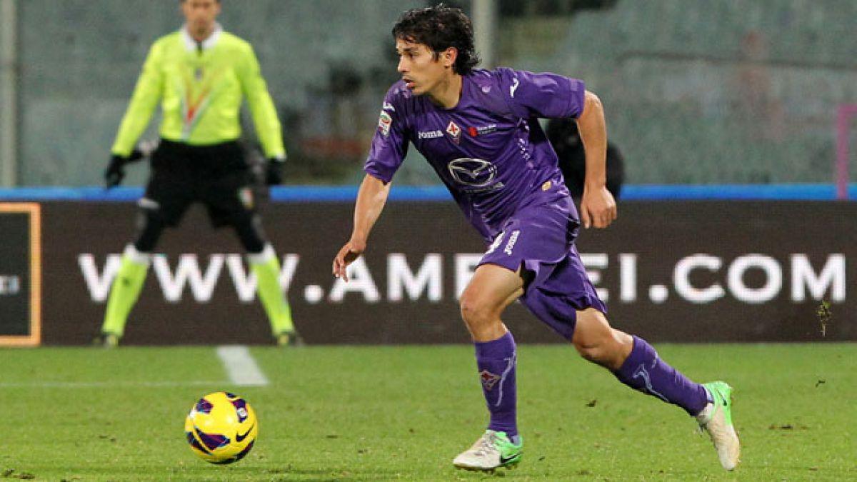 Fiorentina anuncia que Matías Fernández deja el club para partir al Necaxa
