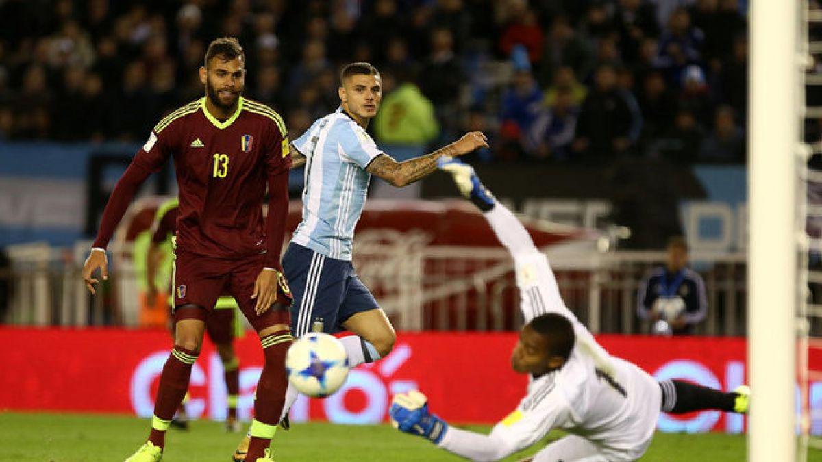 Venezuela le da una mano a Chile al lograr empate ante Argentina en Clasificatorias