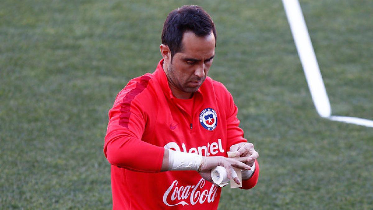 Claudio Bravo estalla contra la marca de Jaime Valdés