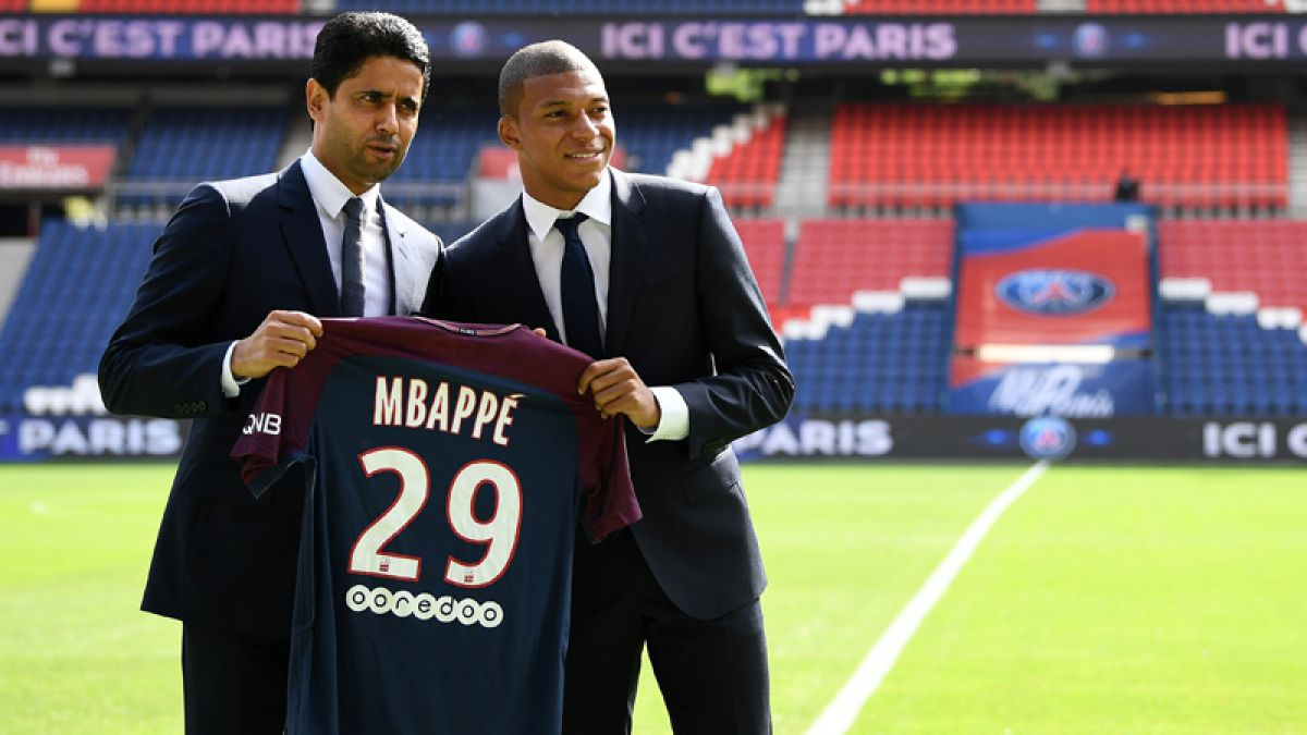 FOTOS. El PSG presenta oficialmente a Kylian Mbappé