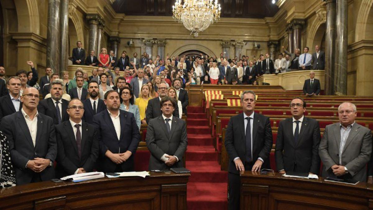 Resultado de imagen de parlamento catalan
