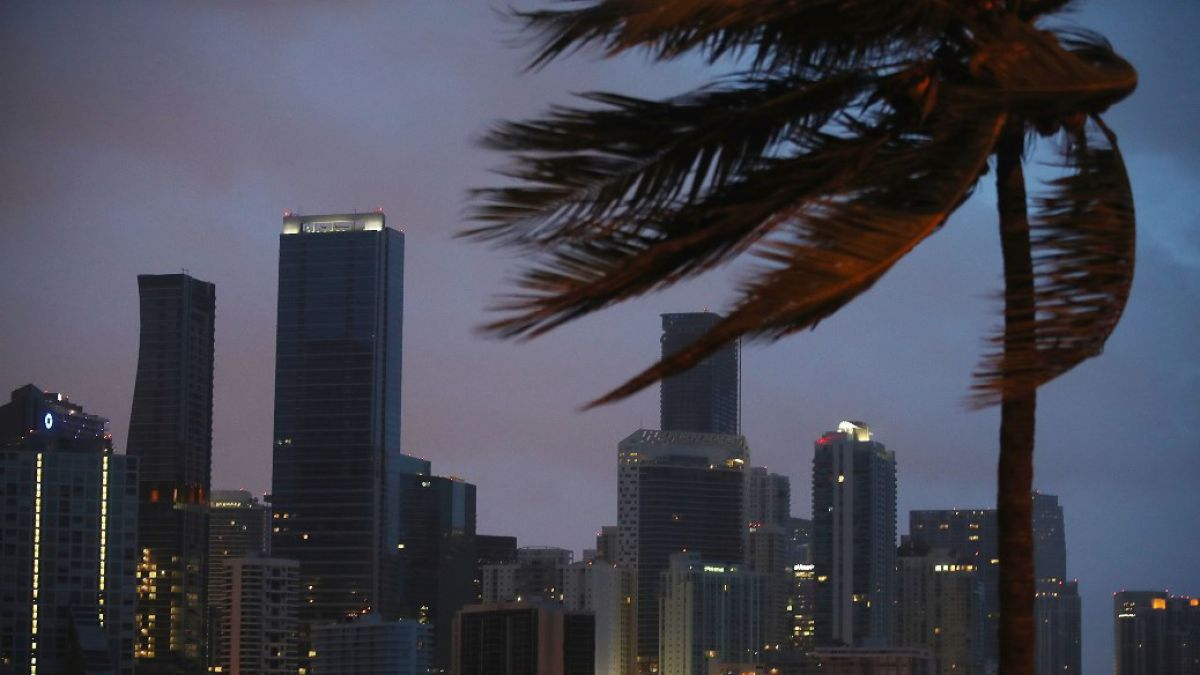 Impactantes imágenes del huracán Irma en Miami
