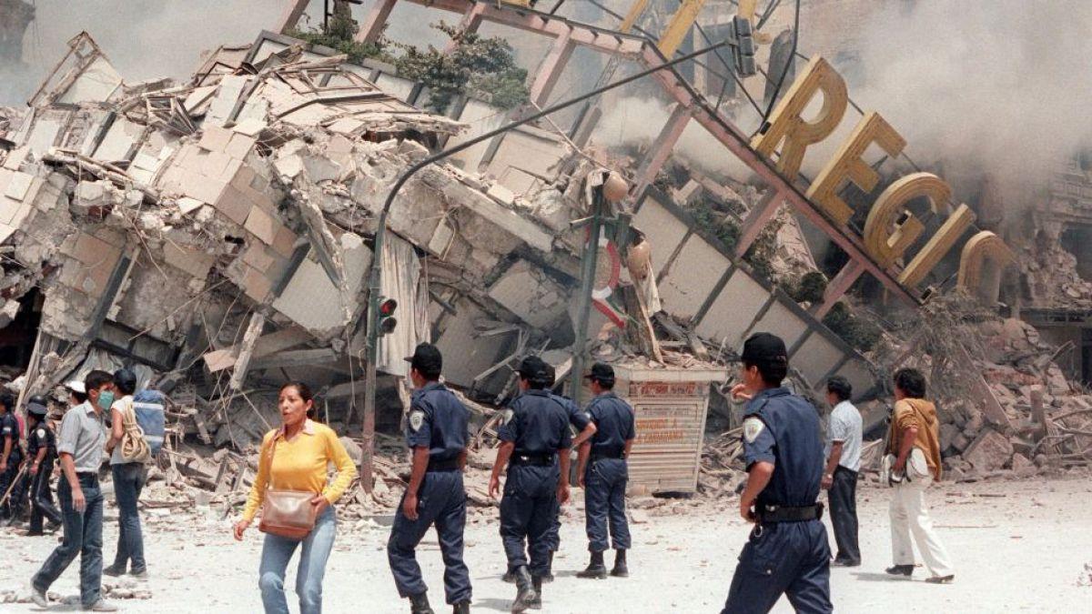 Así vivió periodista de Televisa terremoto en México