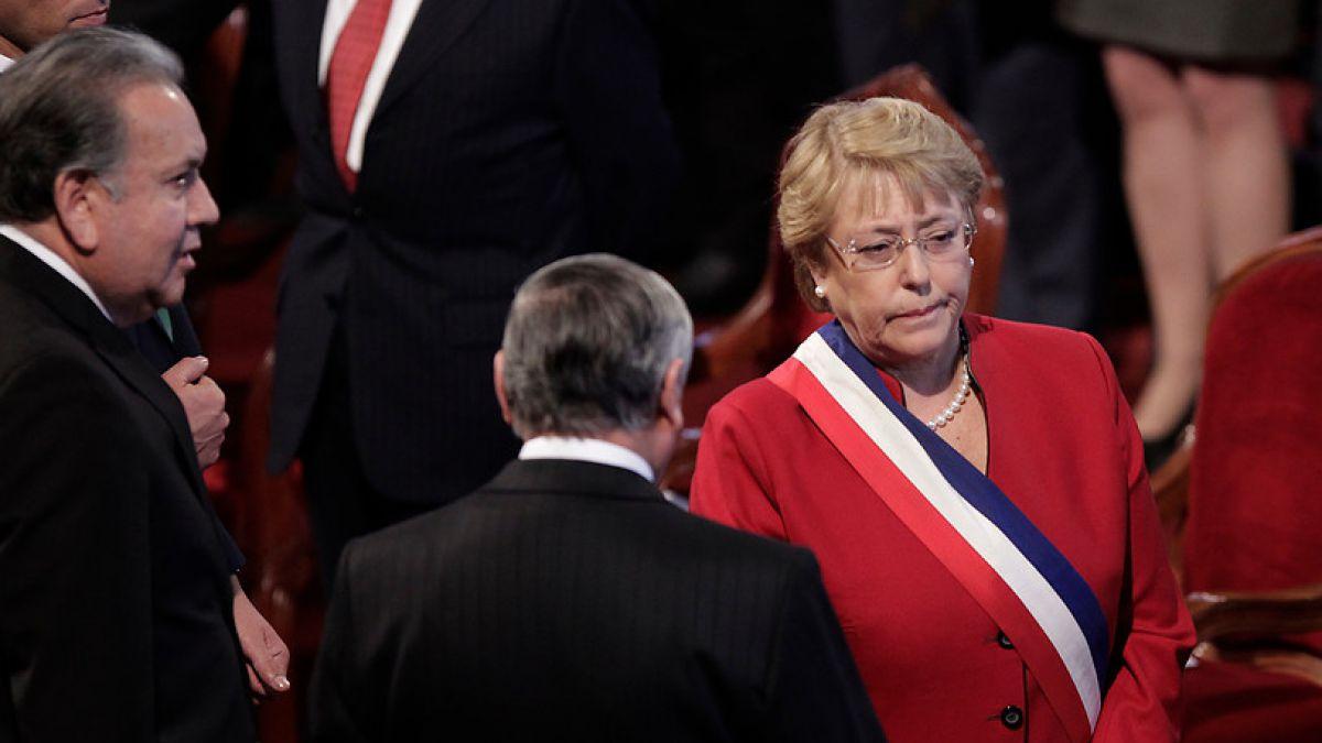 Michelle Bachelet criticada en Te Deum Evangélico por promover derechos LGTB