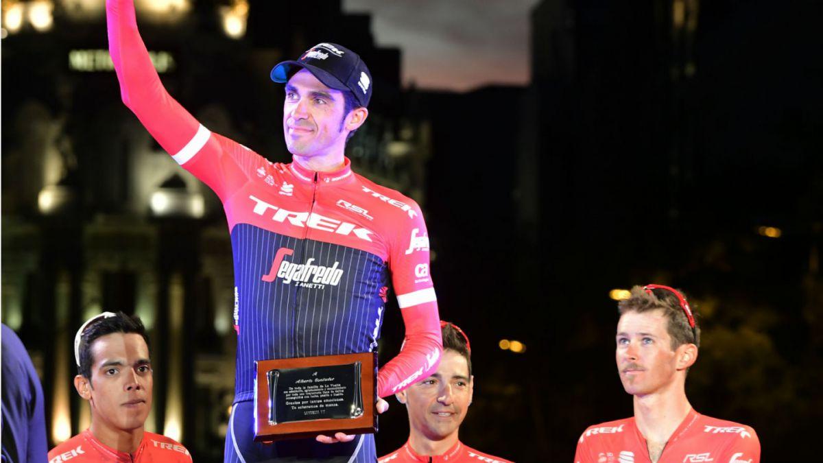 Alberto Contador se retira del ciclismo profesional a los 34 años