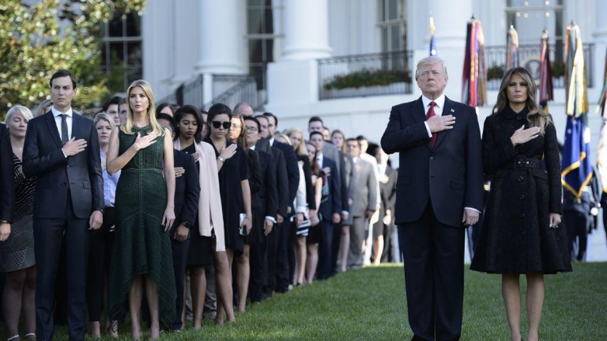 Trump lanza amenaza a terroristas durante ceremonia por 11-S