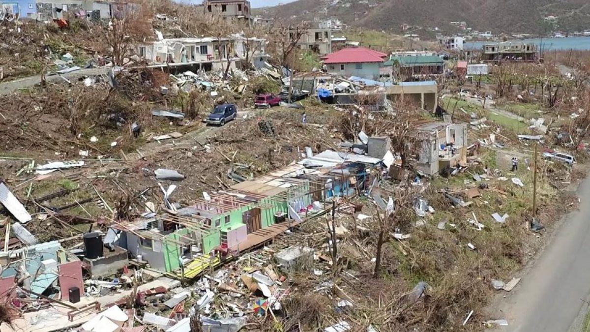 En imágenes: así quedaron el Caribe y EE.UU. tras el devastador paso del huracán Irma