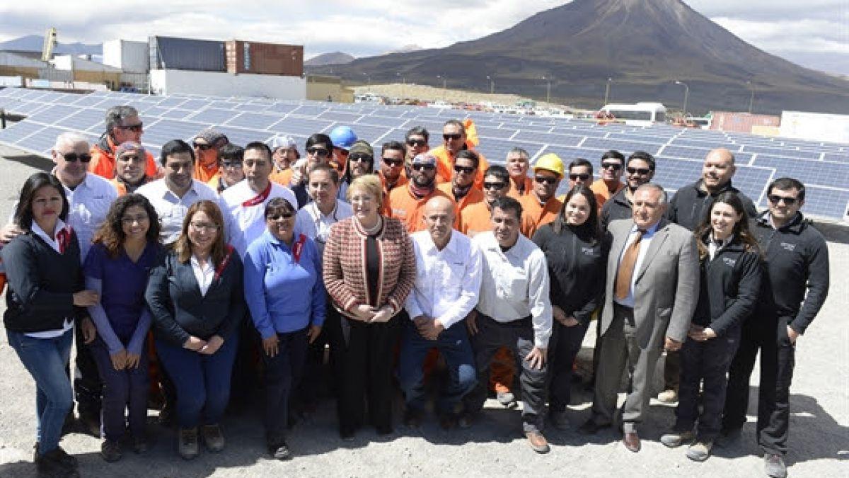 Se inaugura en Chile la primera planta geotérmica de Sudamérica