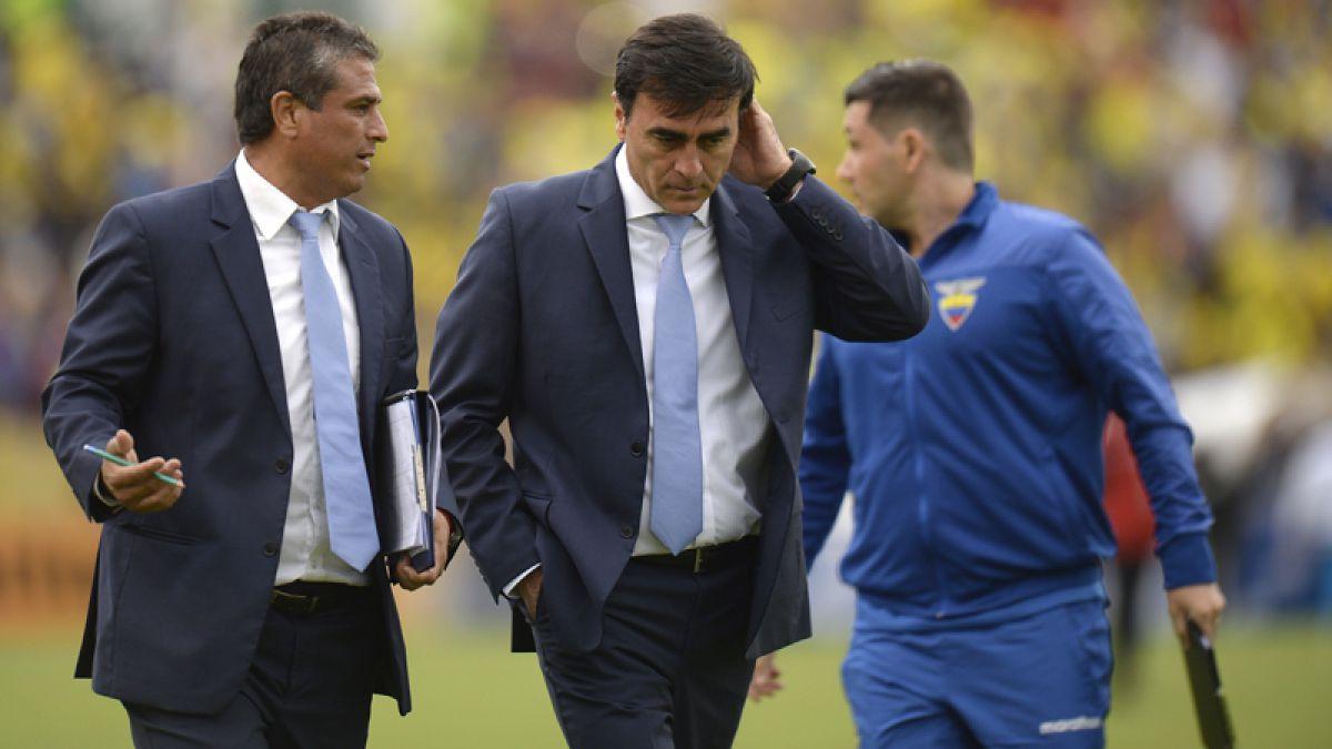 Ecuador destraba salida de técnico Quinteros y Jorge Célico asume en su lugar