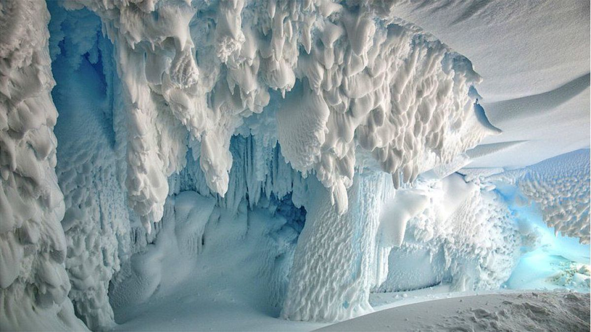 El misterioso ADN descubierto en una cueva bajo el hielo de Antártica