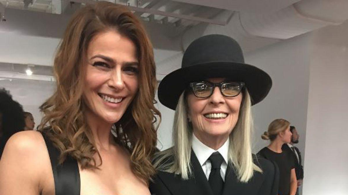 Tonka Tomicic con Diane Keaton