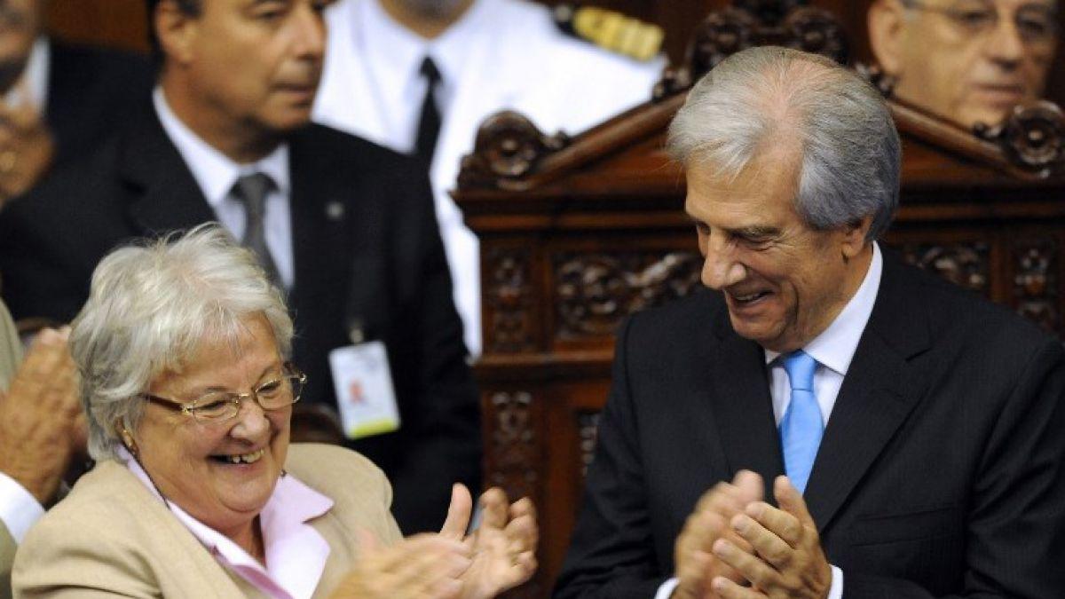 Esposa de Pepe Mujica asume como vicepresidenta de Uruguay