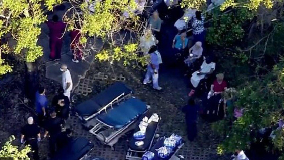 Al menos 6 ancianos mueren en una residencia de Florida tras el paso del huracán Irma