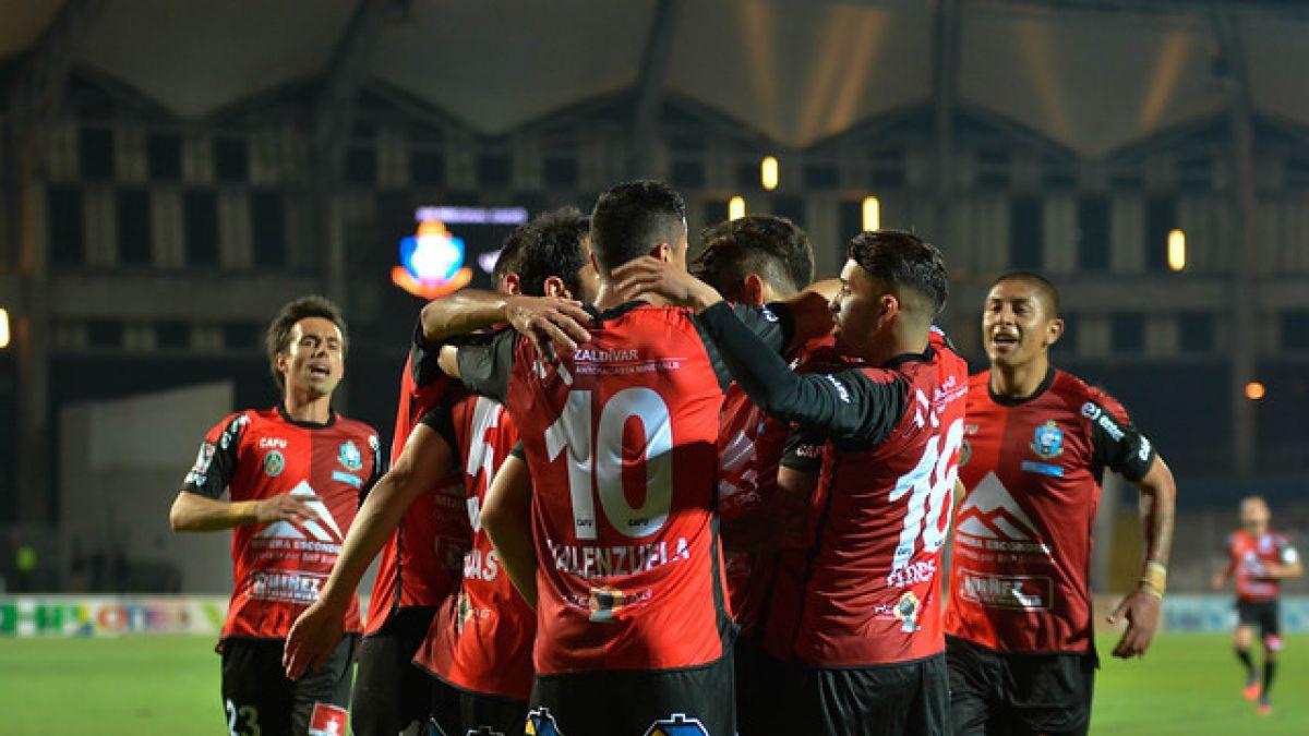 En la agonía Antofagasta rescató un empate ante Curicó