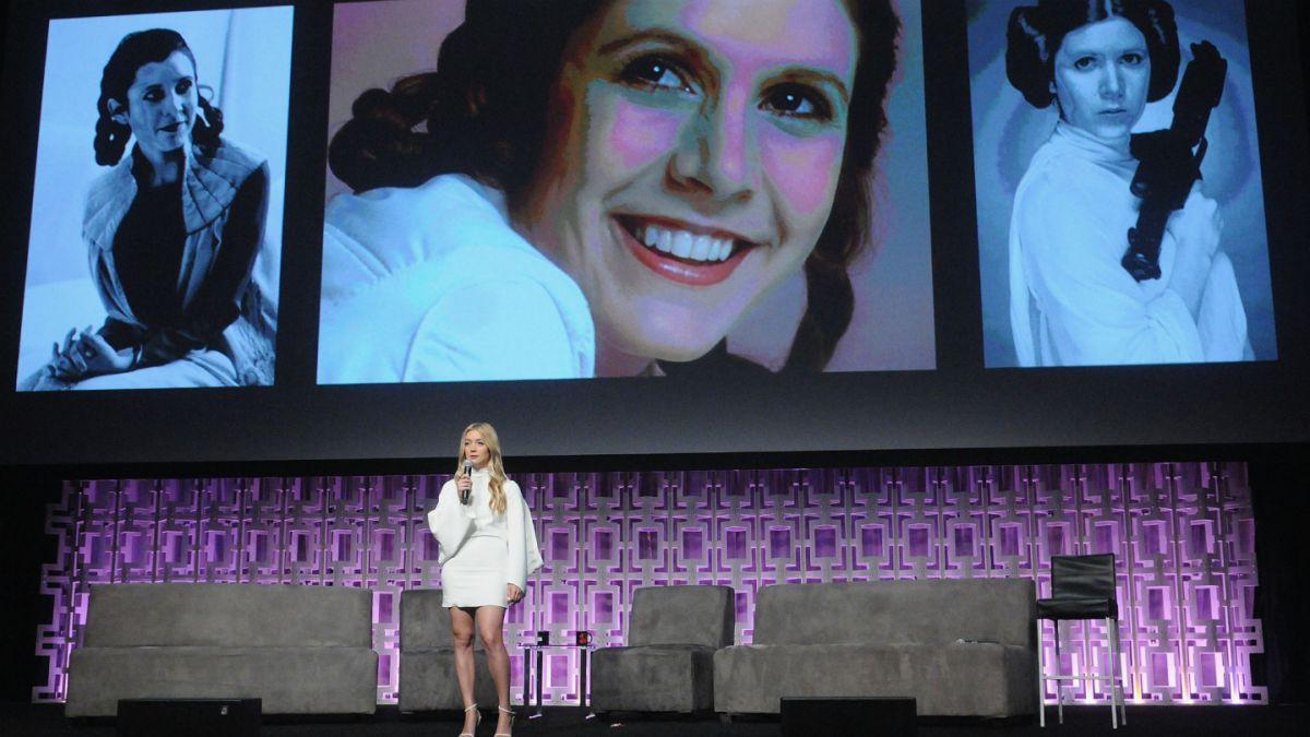 Hija de Carrie Fisher audicionó para el rol de Rey en Star Wars: El despertar de la fuerza