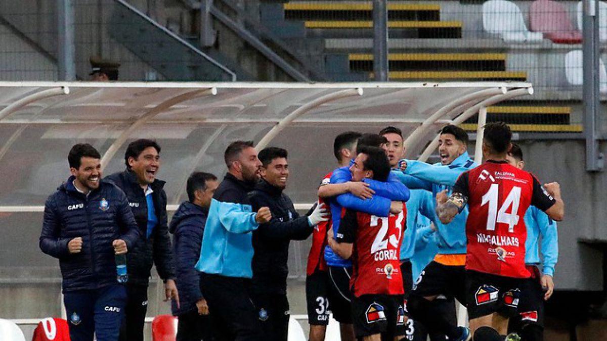 Antofagasta logra agónico empate ante Curicó por cuartos de final de Copa Chile