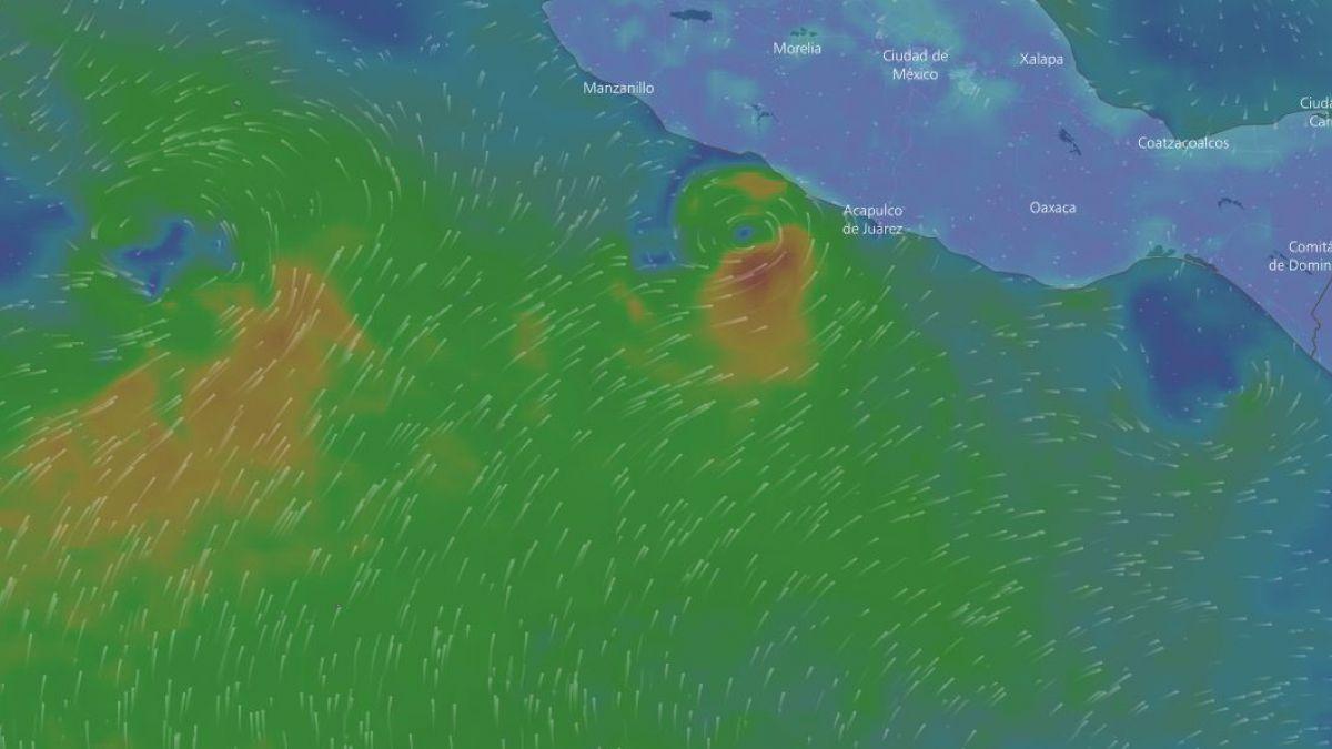 Max: nueva tormenta se forma frente a lugares afectados por terremoto en México