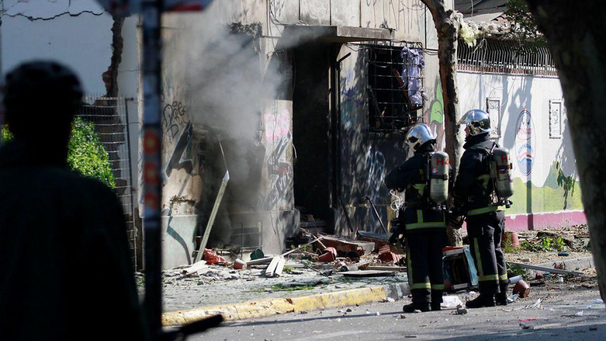 Explosión por gas deja tres lesionados en edificio de Bellavista