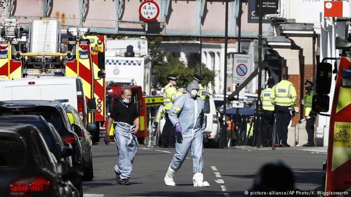 Ataque terrorista en el metro de Londres ha dejado 22 heridos