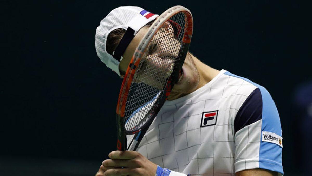 Argentina desciende en la Copa Davis diez meses después de ganarla