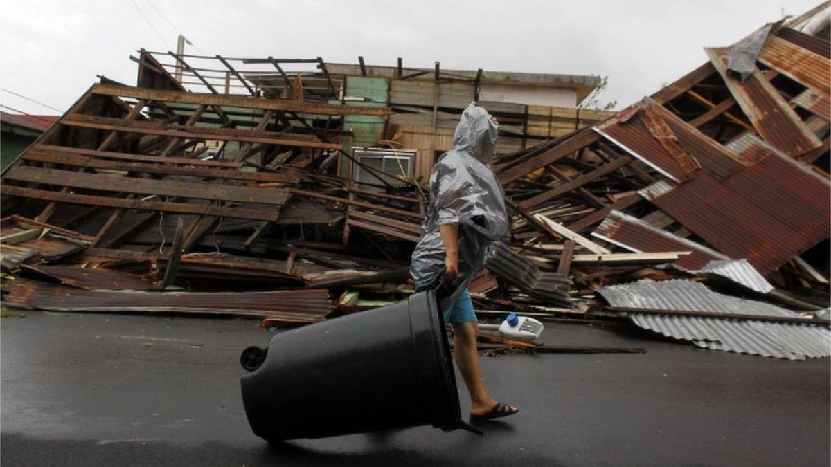Huracán María: Salvan