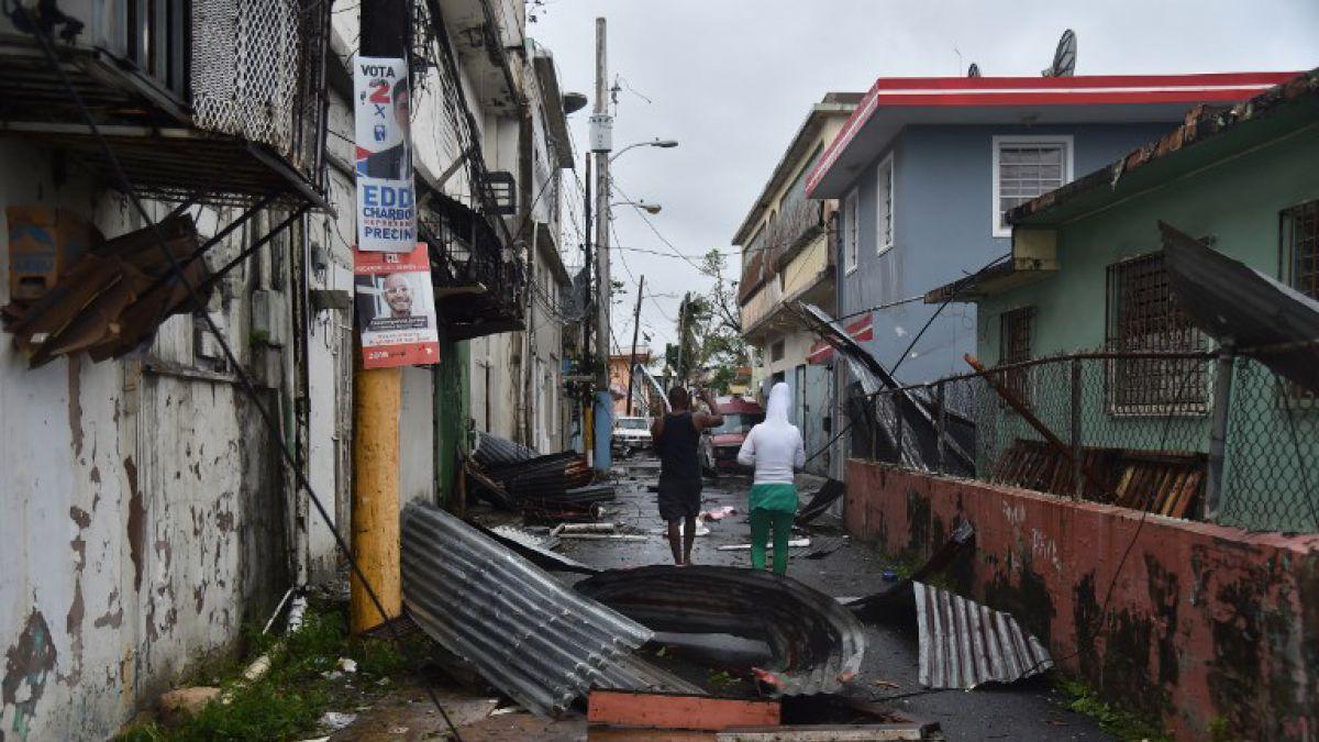 Evacúan 70000 personas en Puerto Rico ante posible colapso de represa