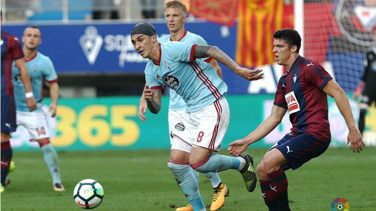 Pablo Hernández anota en sólida victoria de Celta