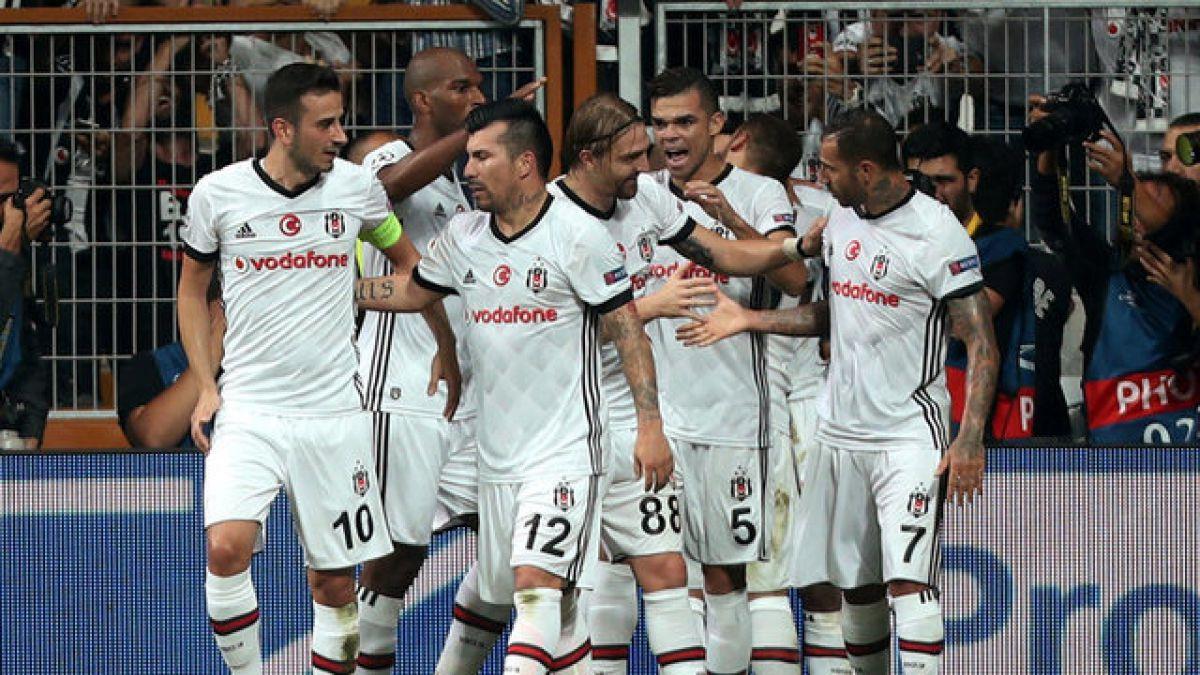Medel y Besiktas vuelven a celebrar en Champions Ahora se impuso a RB Leipzig