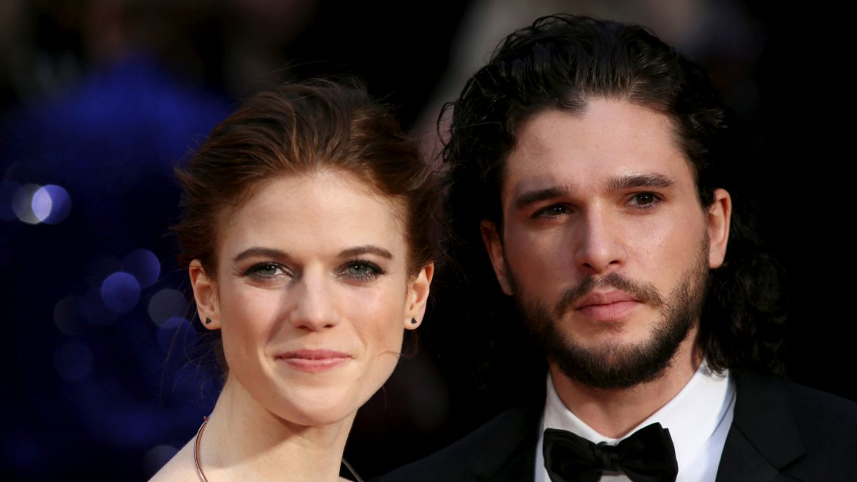 Game of Thrones: Se comprometen Kit Harington y Rose Leslie