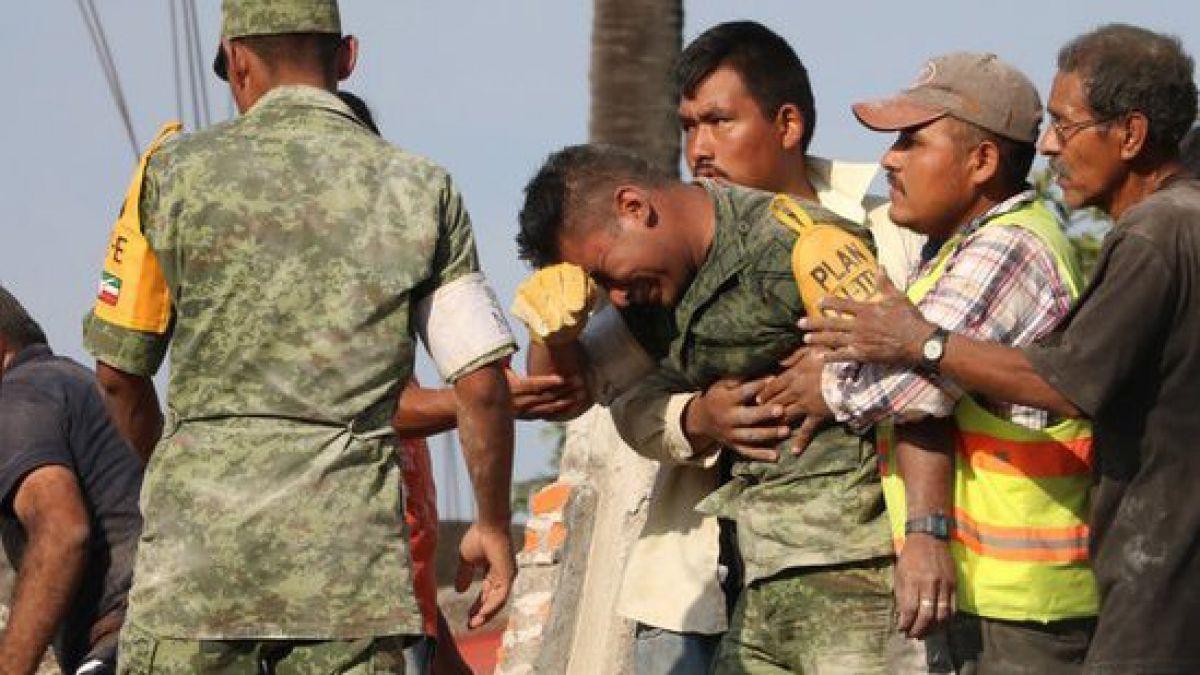 La búsqueda de Martín Moctezuma Luis, una de las imágenes icónicas del terremoto en México
