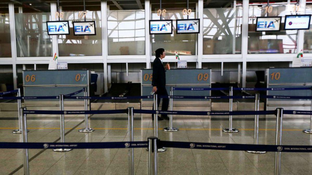 Como represalia, Irak suspendió los vuelos internacionales desde el Kurdistán