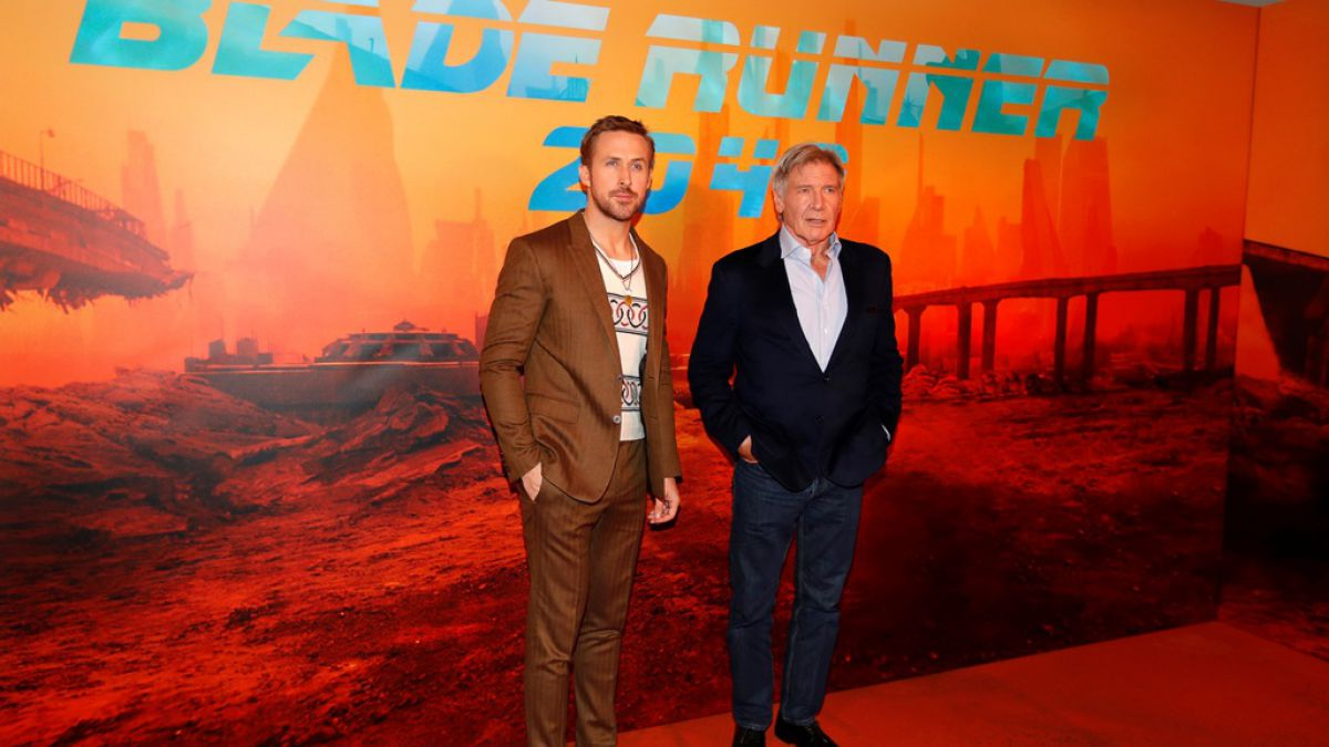 Ryan Goslin y Harrison Ford