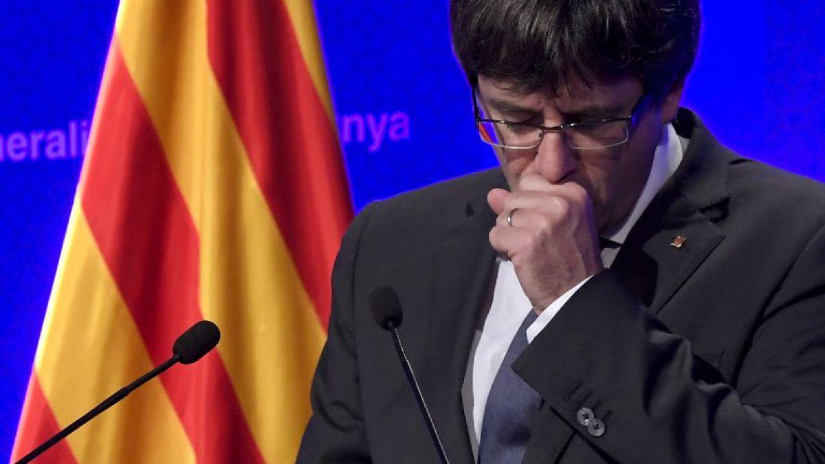 Puigdemont y su exilio divide y desconcierta a los catalanes