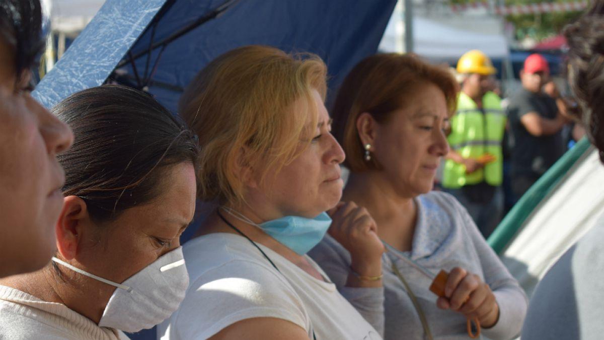 Terremoto en México: El drama de esperar durante días para saber qué pasó con un familiar atrapado