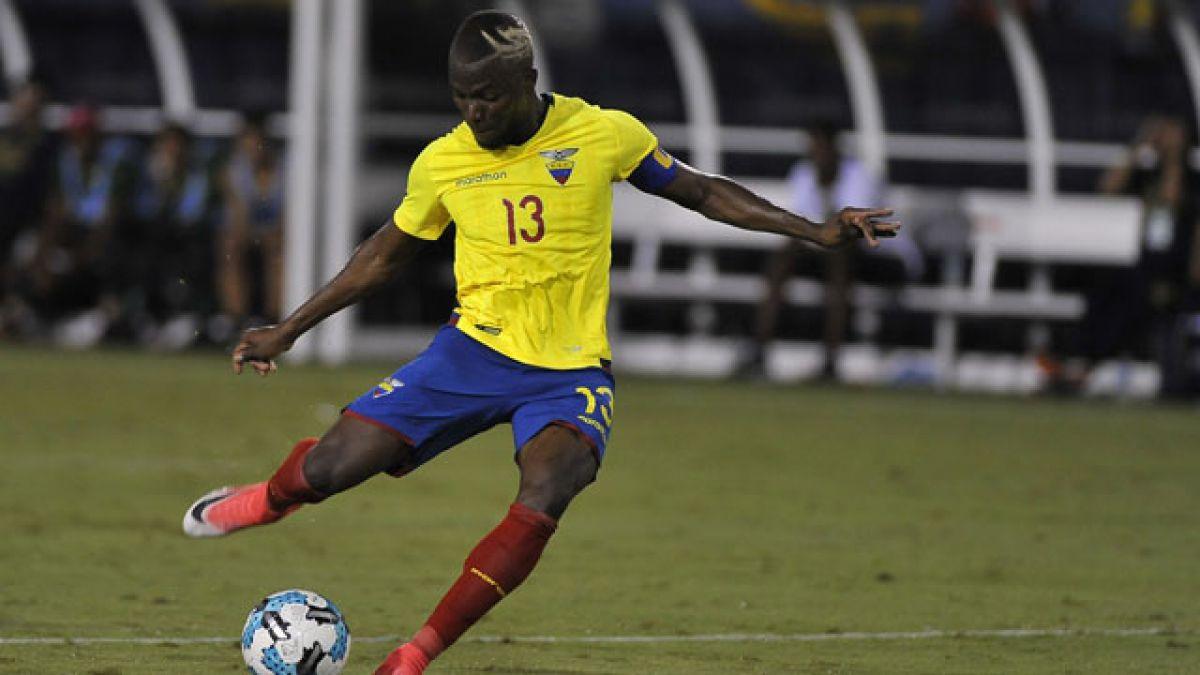Enner Valencia es baja en Ecuador para enfrentar a Chile por Eliminatorias