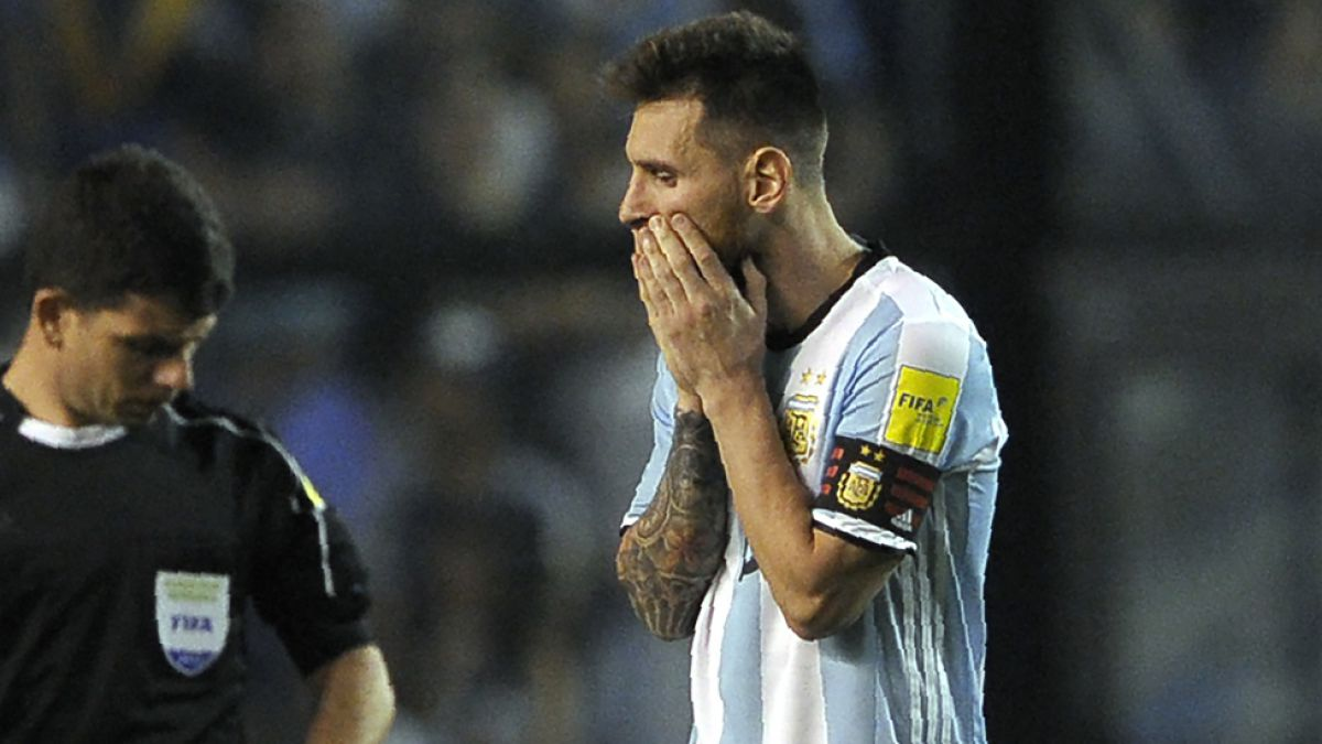 ¿Catástrofe nacional?: Argentina sufre por posibilidad de no ir al Mundial