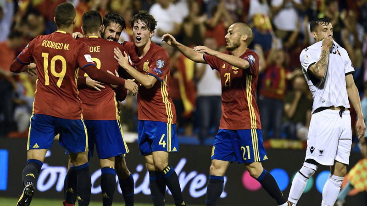 España clasifica al Mundial de Rusia 2018 gracias a tropiezo de Italia que va al repechaje