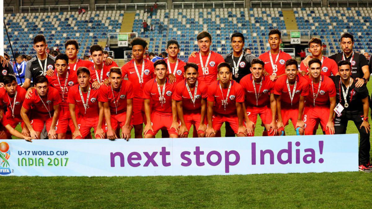 Chile inicia su camino en el Mundial Sub 17 de India por las pantallas de Canal 13