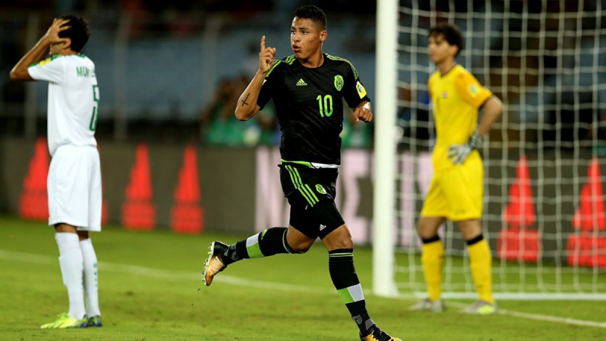 México empata en el grupo de Chile del Mundial Sub 17 y Honduras cae por goleada