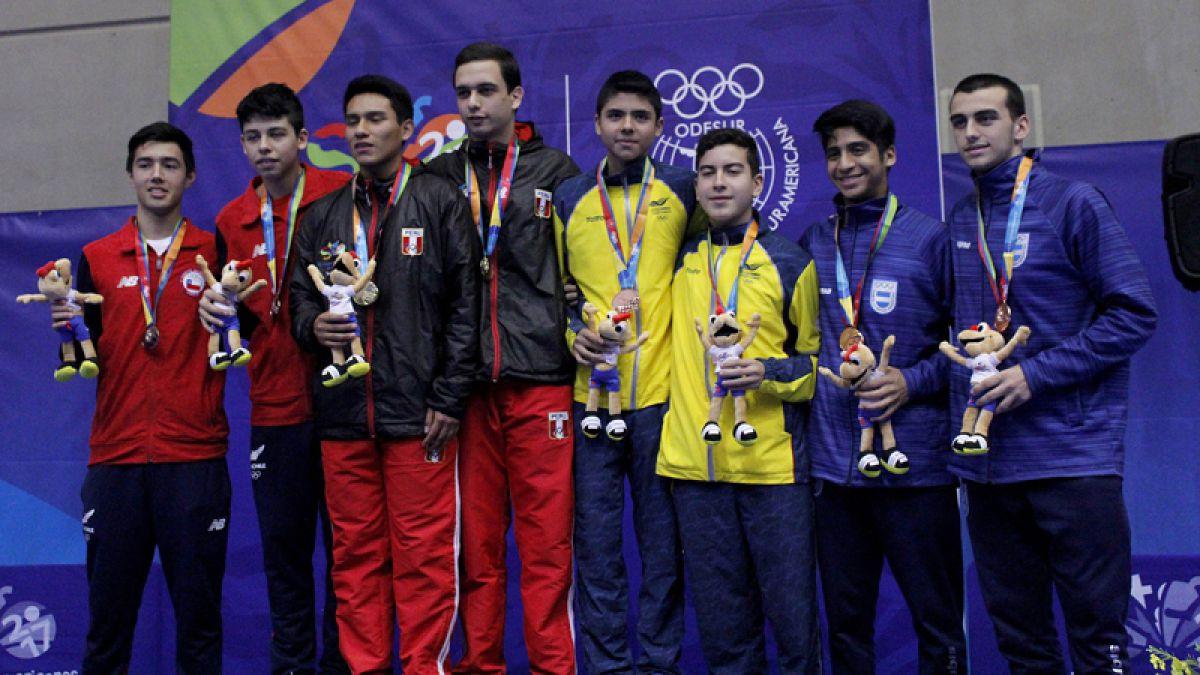 Chile cuarto: El medallero de los II Juegos Suramericanos de la Juventud Santiago 2017